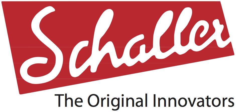 Schaller electronics logo slogan