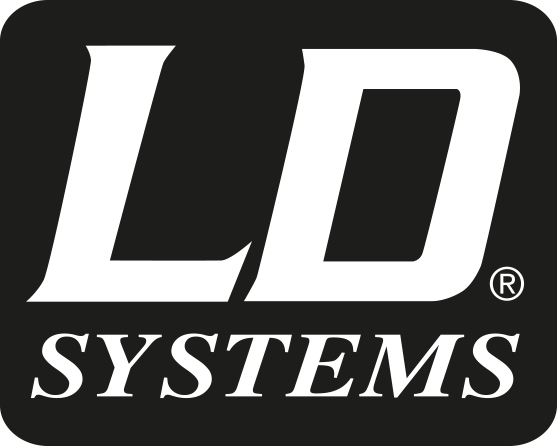 Ld systems logo black