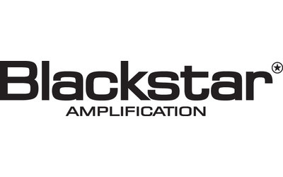 Display blackstar logo against white