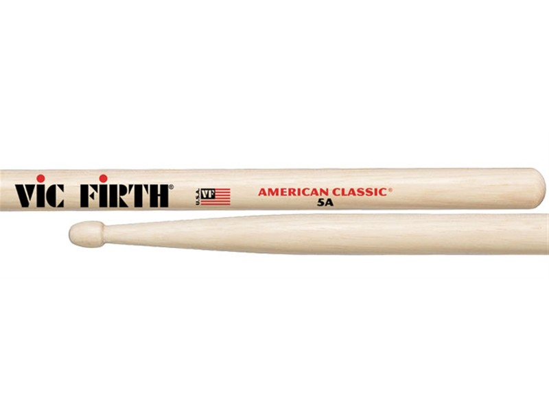 Vic Firth American Classic 5A Hickory Drumsticks