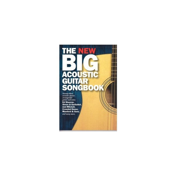 Square the new big acoustic guitar songbook 001 201x300