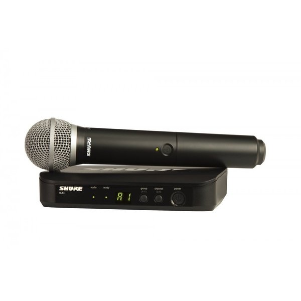 Square shure wireless blx24uk pg58 k3e
