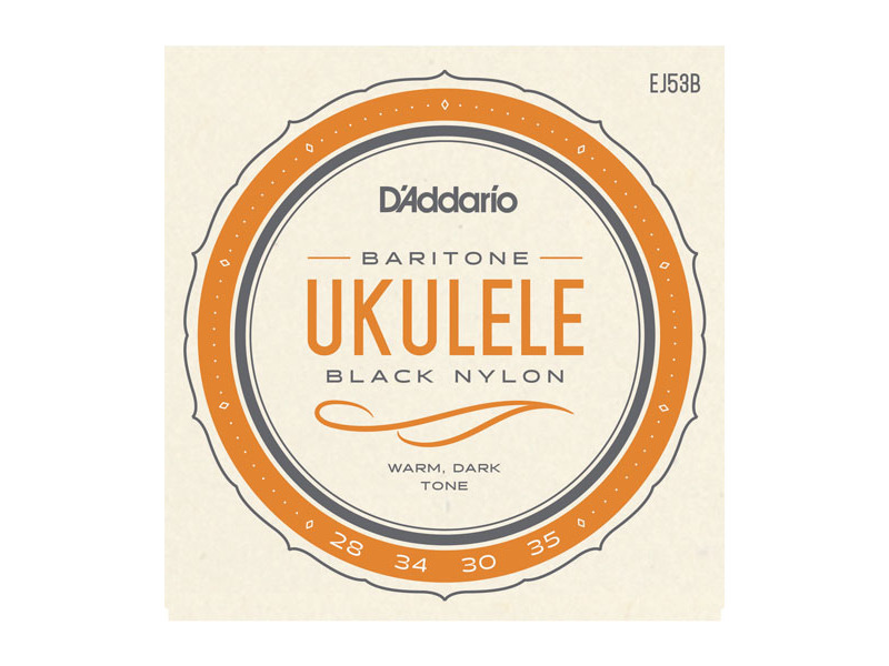 D'Addario EJ53B Pro-Arté Rectified Ukulele, Baritone String Set