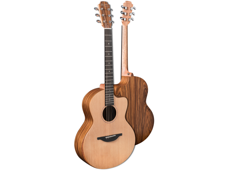 Sheeran by Lowden S-03 Electro Acoustic Cutaway Guitar with Bevel