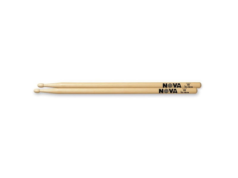 Vic Firth VFN5B NOVA 5B Hickory Wood Tip Drumsticks