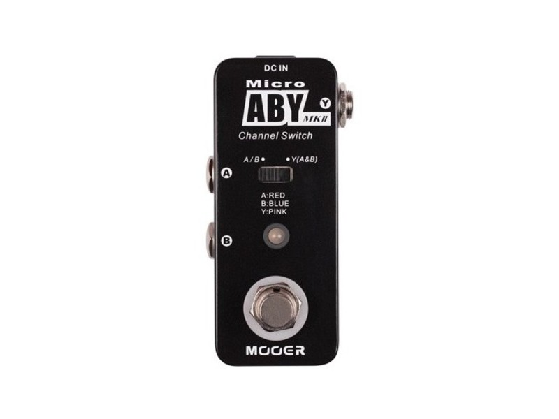 Mooer Micro ABY Guitar Effects Pedal