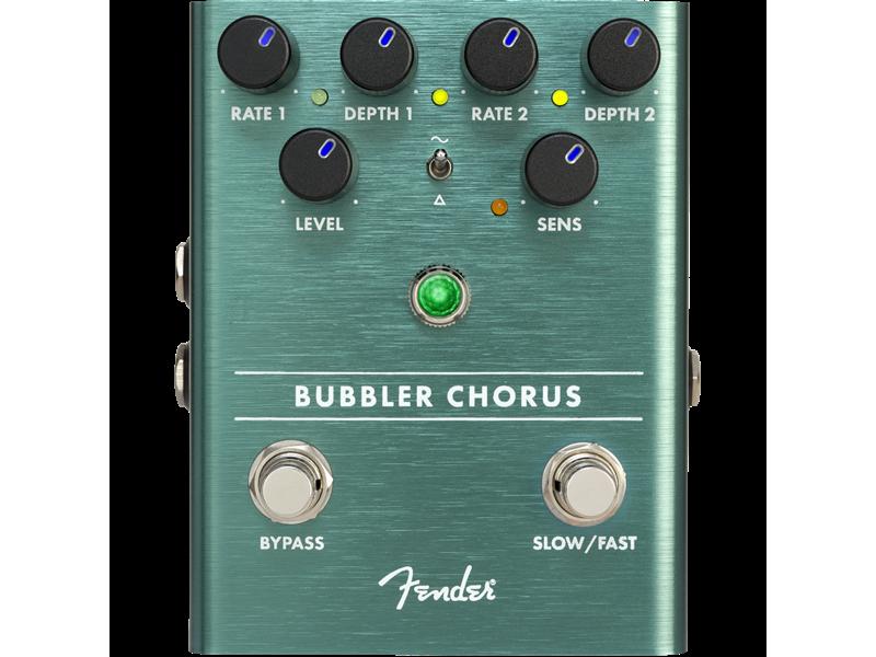 Fender Bubbler Analog Chorus/Vibrato Guitar Effects Pedal