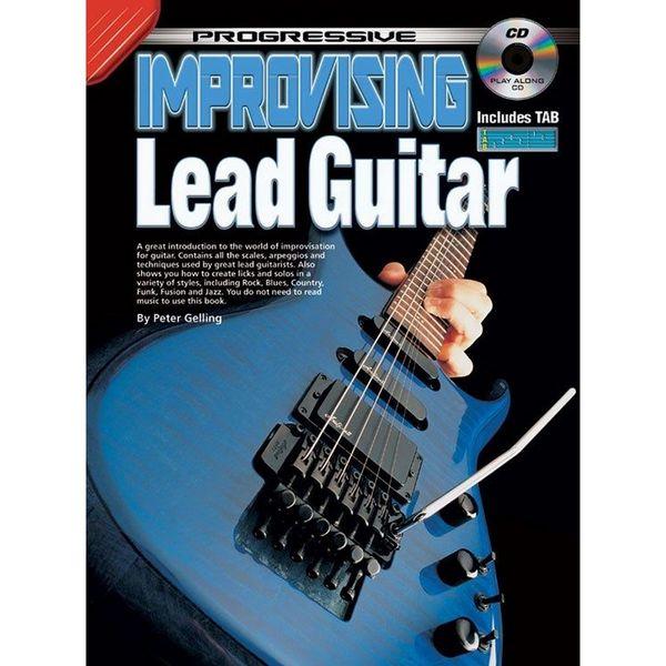 Square progressive improvising lead guitar