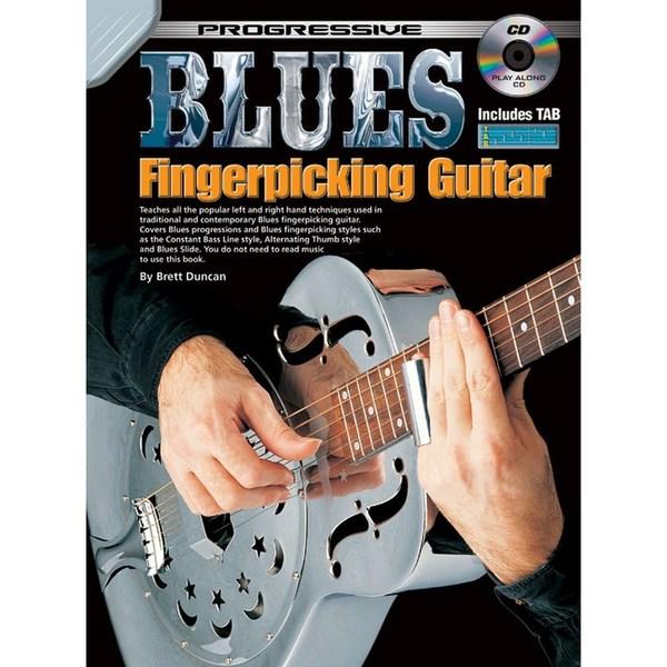 Square prog blues fingerpicking bk