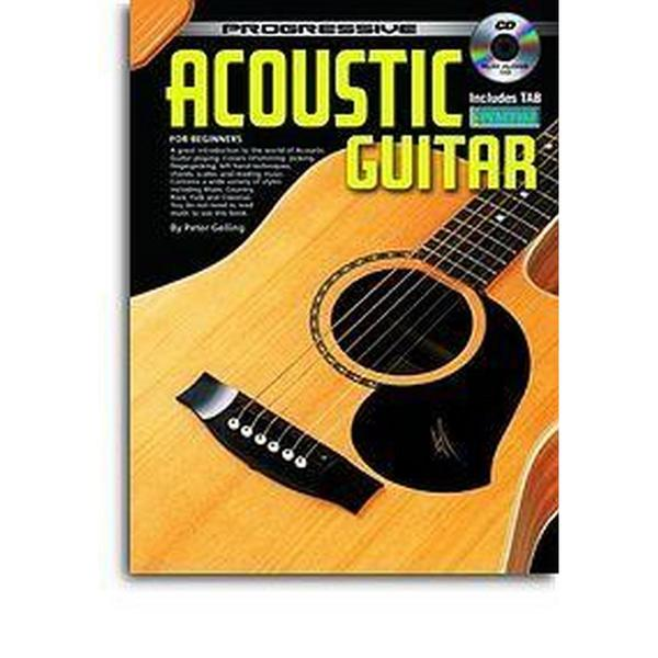 Square prog acoustic guitar bk