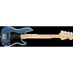 Fender American Performer Precision Bass Maple Fingerboard in Satin Lake Placid Blue