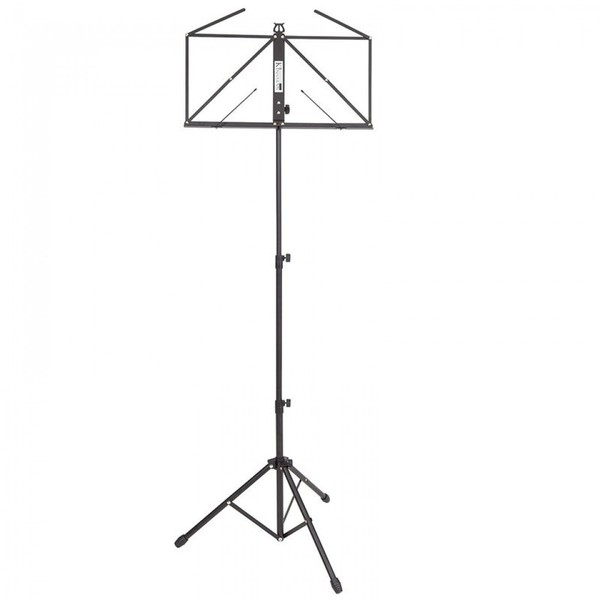 Square pr2621bi8498 ops55bk kinsman deluxe music stand and bag black imd