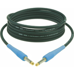 Klotz Kik Instrument Cable with Blue Ends - 3 metre