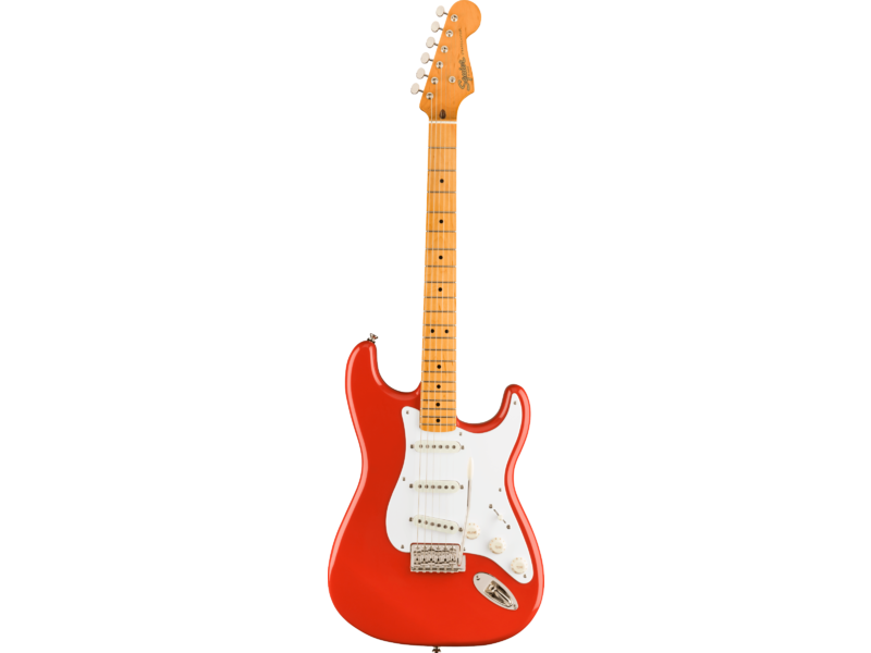 Squier Classic Vibe '50s Stratocaster, Maple Fingerboard, Fiesta Red