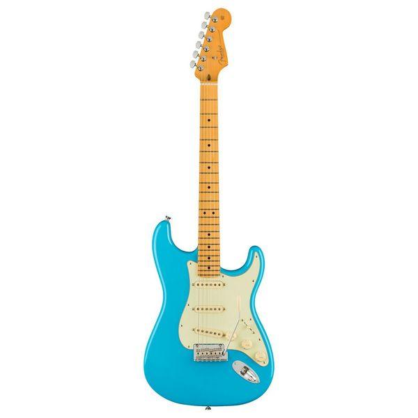 Square 95574 312509 fender american professional ii stratocaster mn miami blue 1