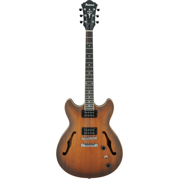 Square 453547 ibanez as53 tf tobacco flat artcore semi acoustic guitar