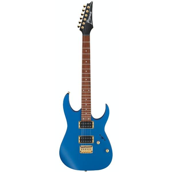 Square 416070 ibanez rg series electric guitar laser blue matte