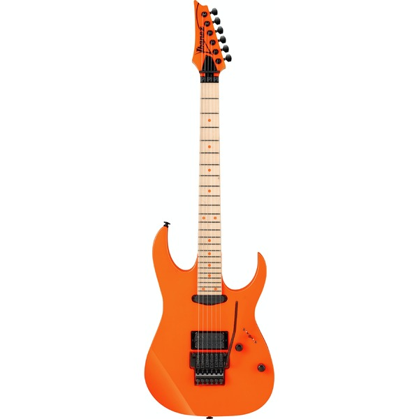 Square 422515 ibanez rg565for genesis collection electric guitar fluorescent orange