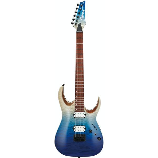 Square 422356 ibanez rga42hpqmbig rga series electric guitar blue iceburg gradiation