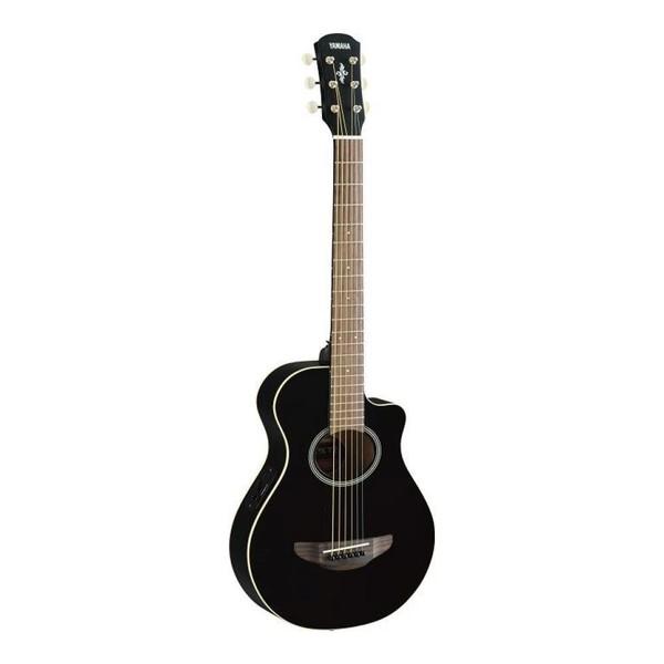 Square yamaha apxt2 bk travel guitar in black p13460 109587 image  2