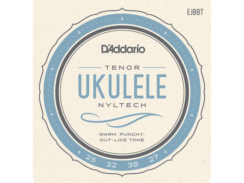 D'Addario EJ88T Nyltech Ukulele Strings Tenor