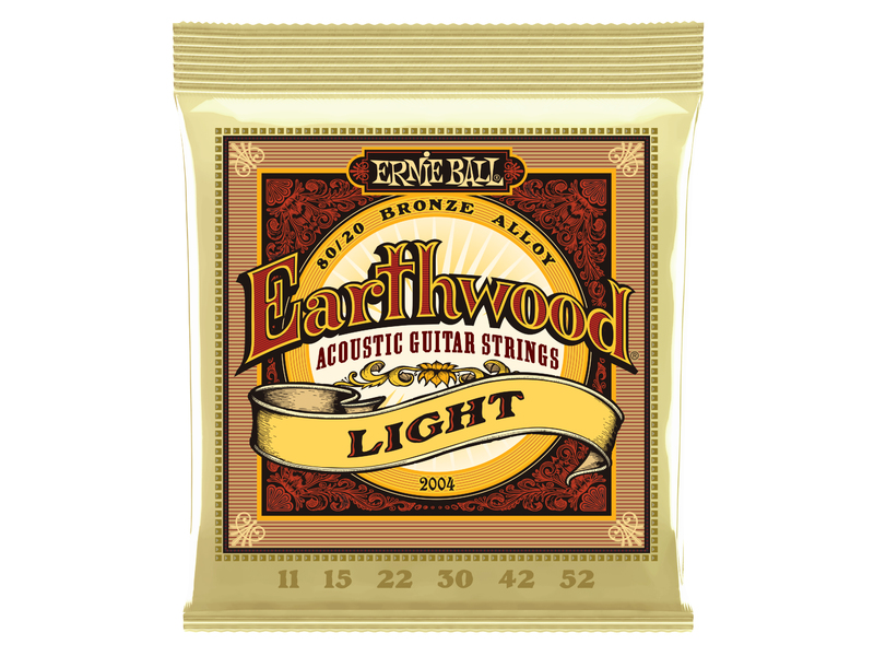 Ernie Ball Earthwood Light 80/20 Bronze 11-52
